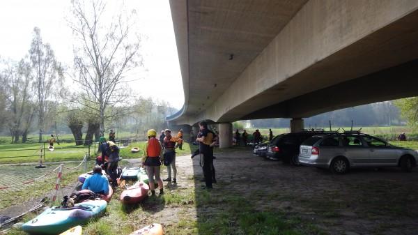 Die Bezirks Frühlingsfahrt des DKV war mit ca. 30 Teilnehmern gut besetzt.