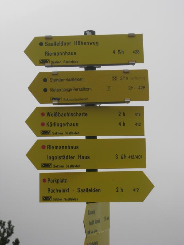 Doch es gibt noch viel zu entdecken im Salzburger Land. Wir kommen wieder - keine Frage !