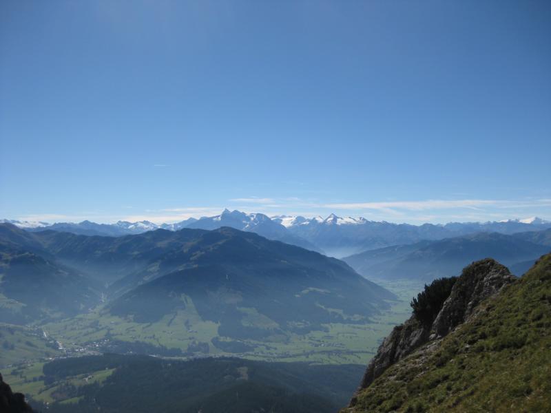 Noch einmal motiviert der Blick in das Tauern-Panorama.