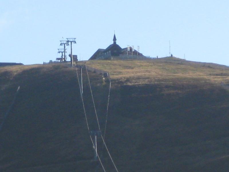 Um auf den Spazierweg zu kommen, bestiegen wir zunächst die Schmittenhöhe, die vielen von uns vom Skifahren bekannt ist.