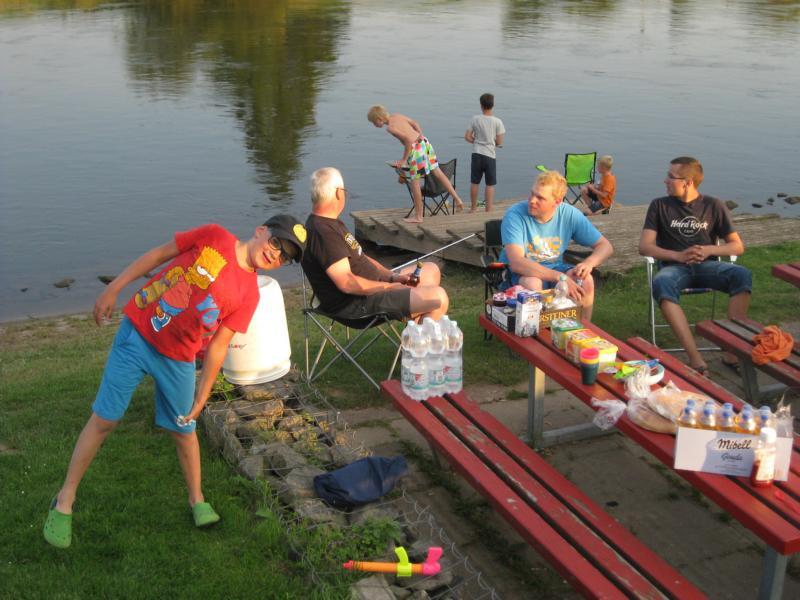 Unser heutiges Etappenziel war der Campingplatz in Holzminden.
