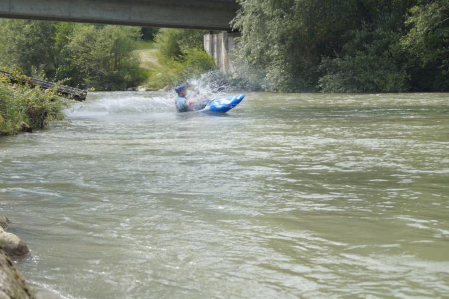 Die Wildwasserarena Flattach erwartet den KCWD.