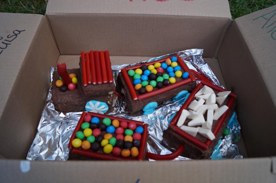 Der Geburtstagskuchen von Luisa für Nele.