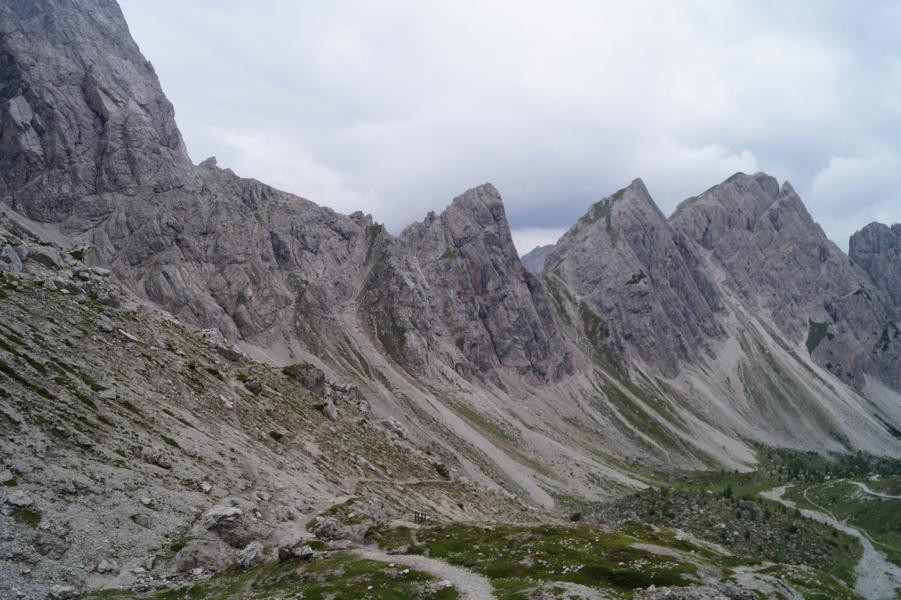 Die Lienzer Dolomiten ...