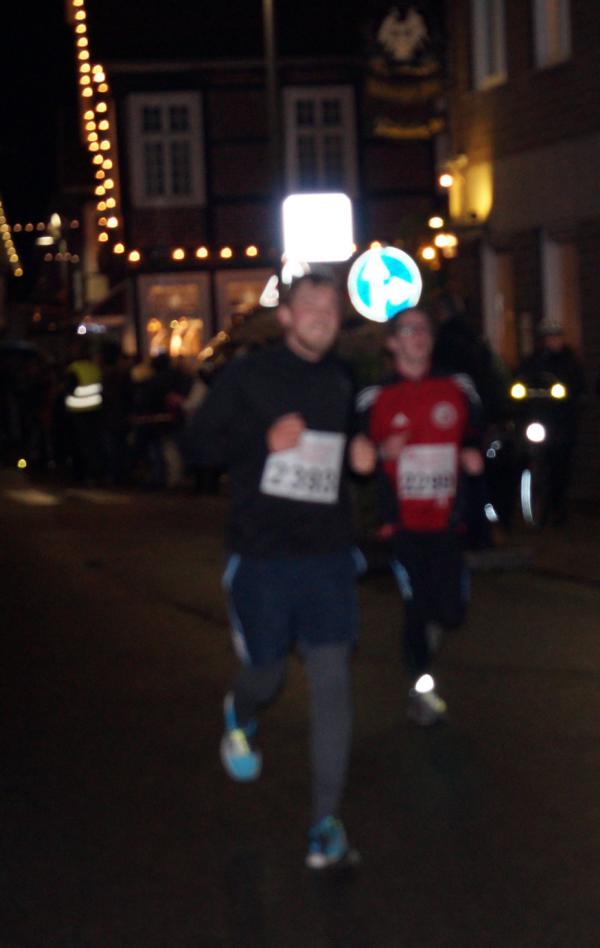 Nico sprintet durch Rietberg.