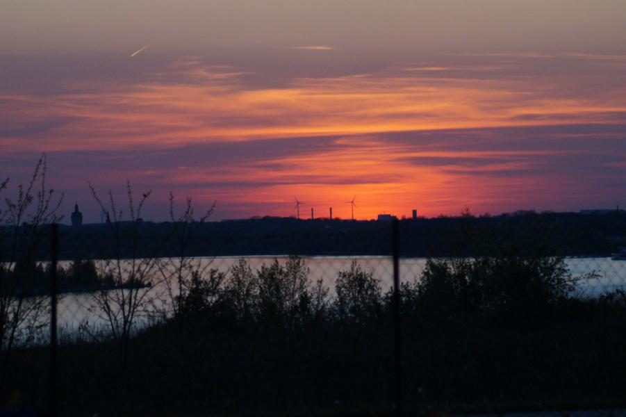 ... den Sonnenuntergang genießen.
