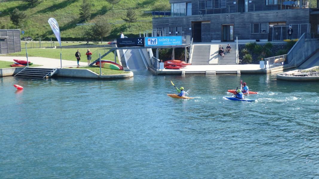 Sprint im Flachwasser ist angesagt.