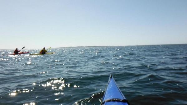 Open Water, ca. 3km in jede Richtung nur Wasser