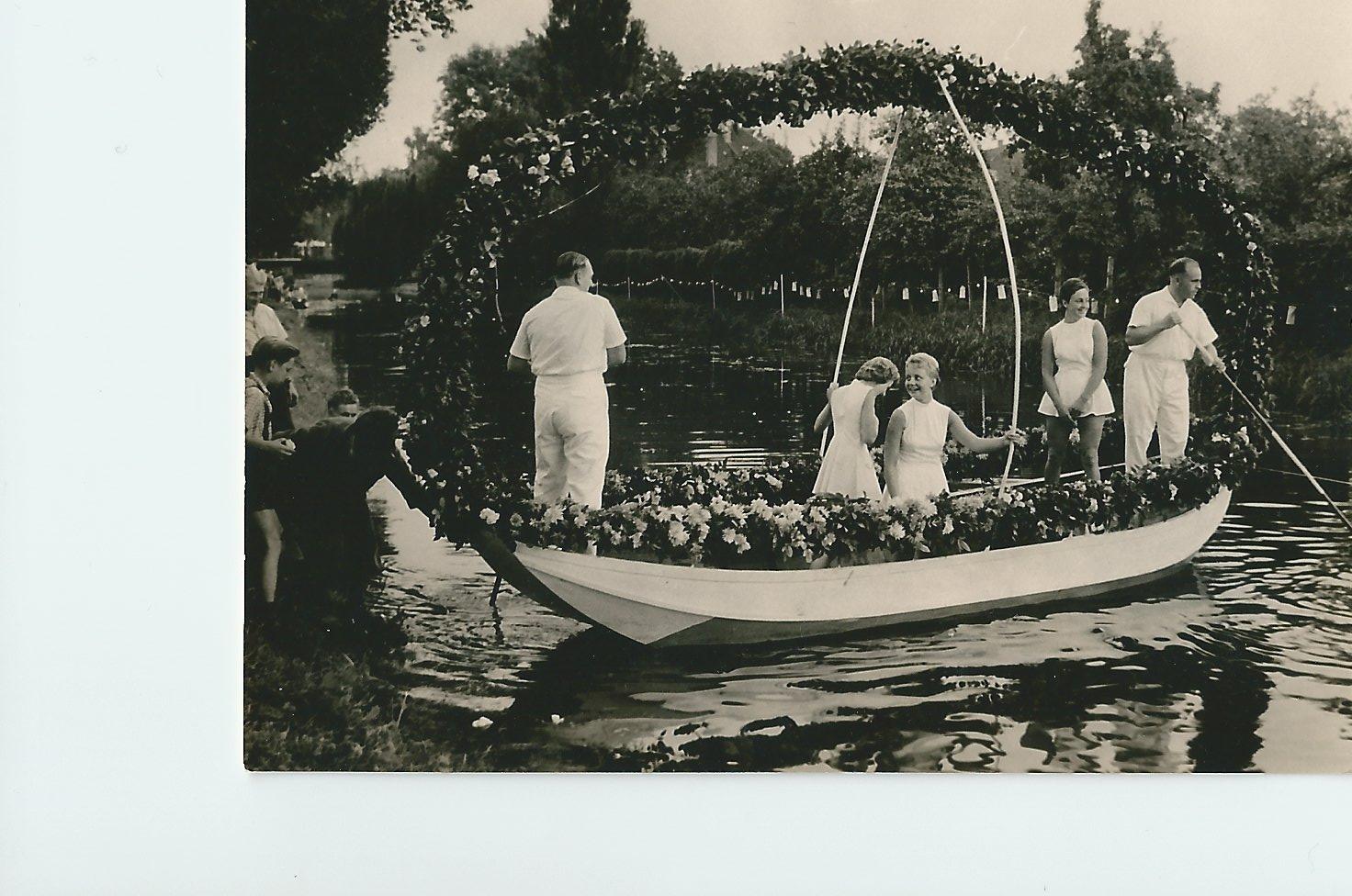 60 Jahre KCWD - Die tradtionelle Lampionfahrt gab es schon in den 50er.