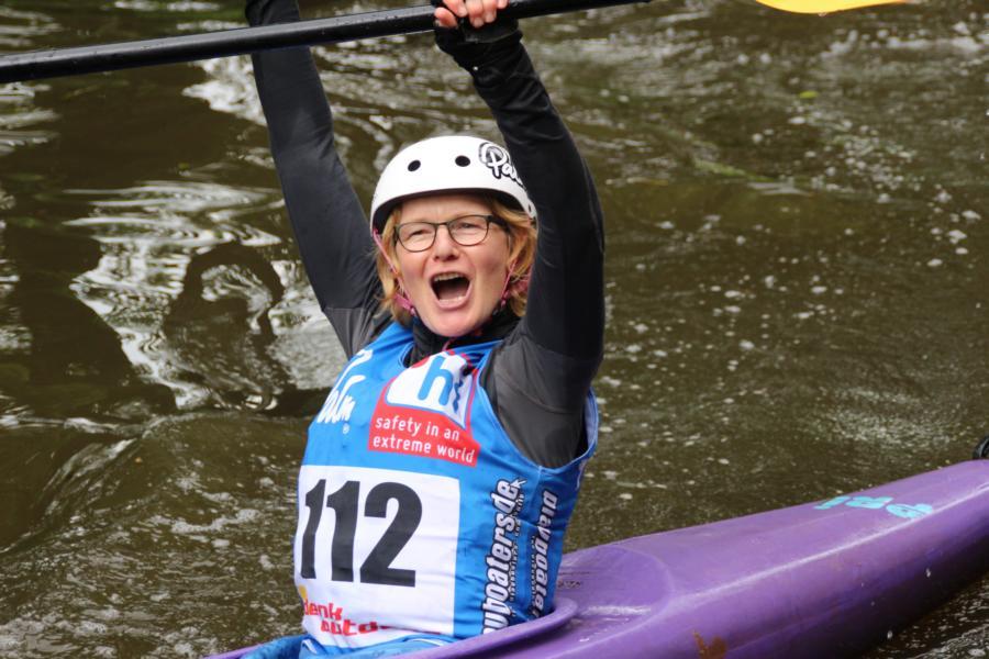 Große Freude über die 1. Wiedenbrücker Kajak Parcours Challenge
