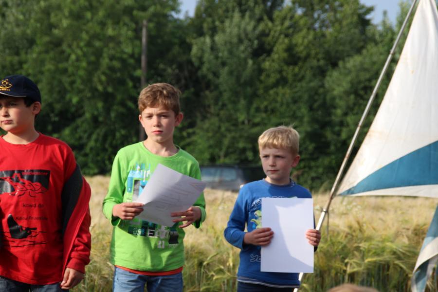 Alle Kids wurden bei der Siegerehrung kräftig gefeiert.