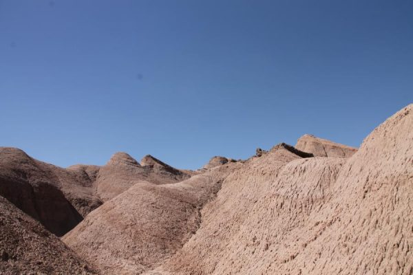 Die Wüste war direkt nebenan