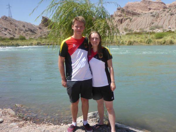 Patrick und Luisa vom Team KCWD in Argentinien